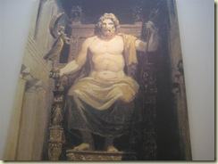 Zeus Statue at Olympia (Small)