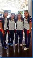 Integrantes de seleccion de futsal Costa Rica