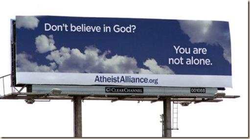 no estas solo ateismo cristianismo