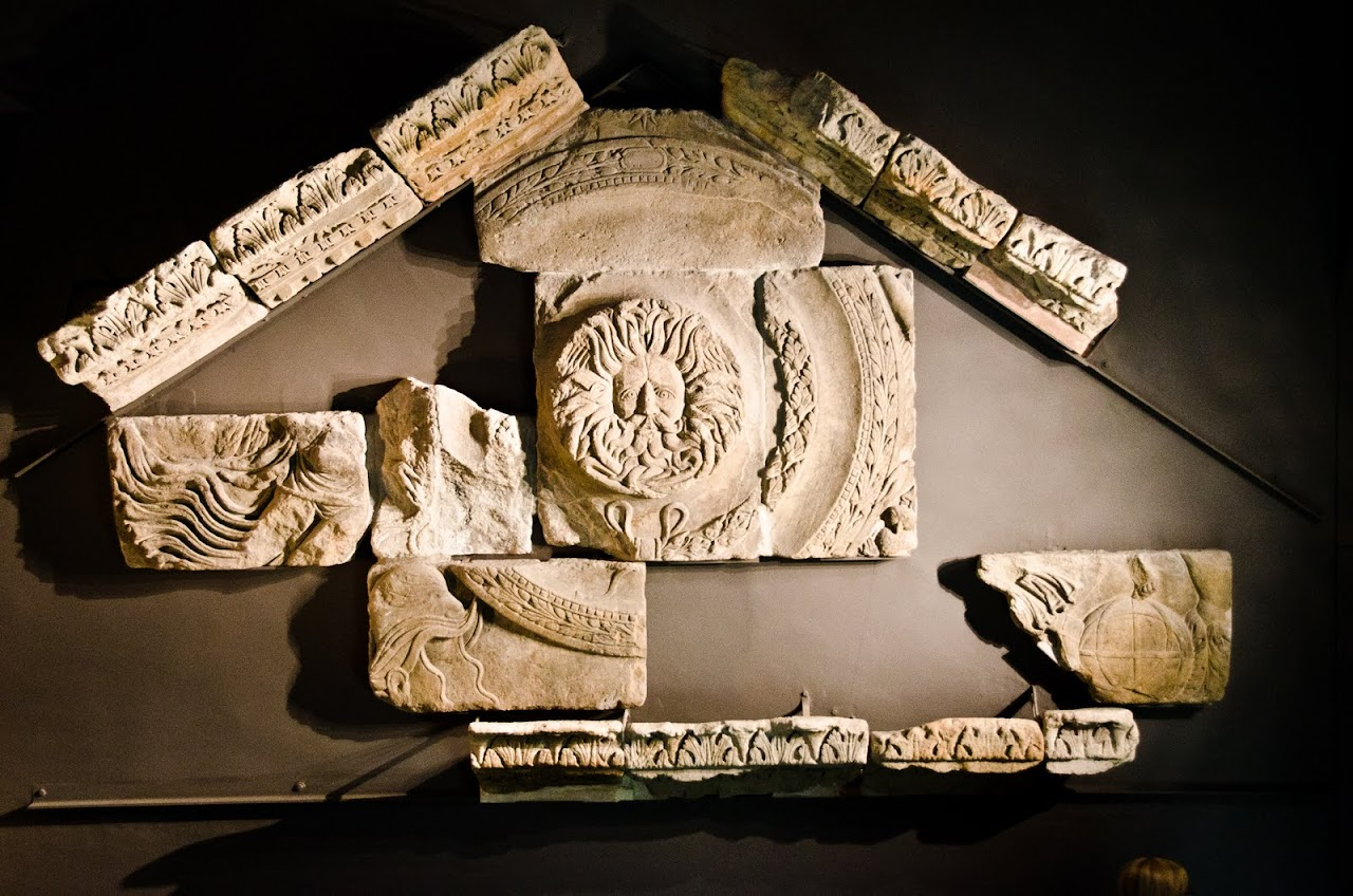 Roman Baths lintel