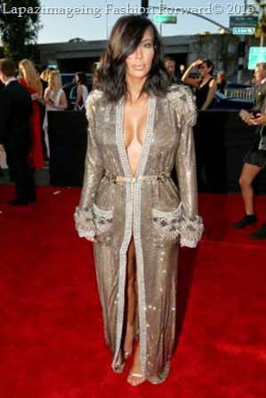 Kim Kardashian West in Jean Paul Gaultier