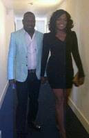 Funke Akindele and Hubby spotted in London