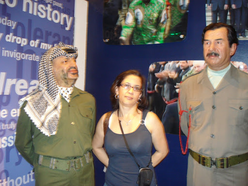Los 2 locos: Yasser Arafat y Saddam Hussein