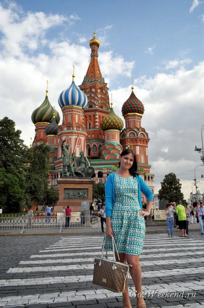 Храм Василия Блаженного Покровский собор в Москве