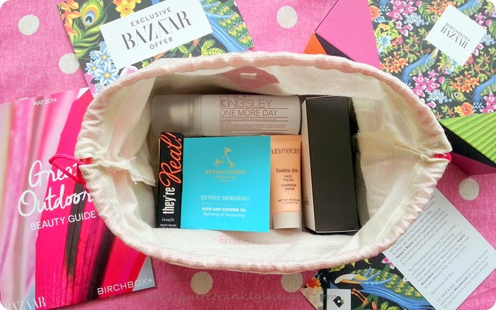 Birchbox beauty box April