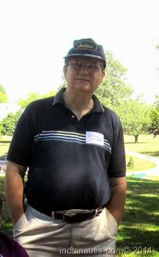Steve Holzer, great grandchild of Mary Anna Keen Weber