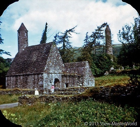 View-Master Dublin Eire and East Coast (C344), Scene 17: Glendalough