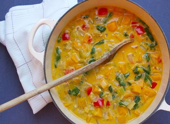 Squash Curry Soup