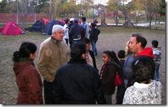 Jornada Recreativa del Grupo Scout de San Bernardo con la presencia de Ricardo Daubagna