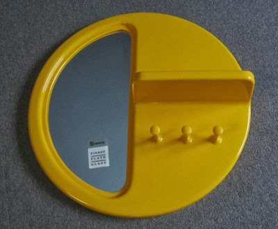 yellow Syroco mirror