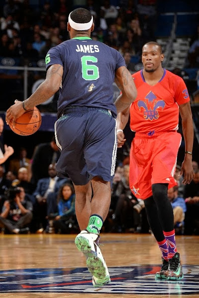 lebron james nba 140216 all star new orleans 33 game Gallery: LBJ Wears Gator King LeBron 11 in 2014 NBA All Star Game