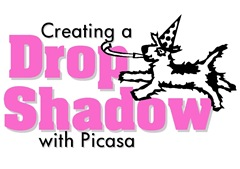 blog dog drop shadow