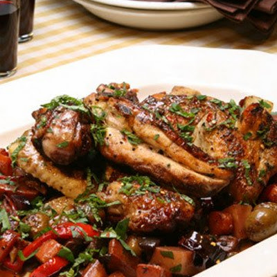 Spicy Sicilian Chicken