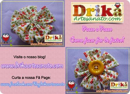 13 Passo a Passo como fazer fuxico Drika Artesanato post
