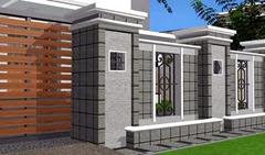 pagar rumah minimalis terbaru 2013