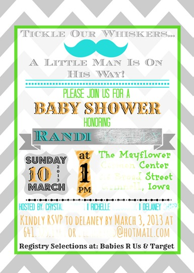 Randis baby shower invite blurred for blog