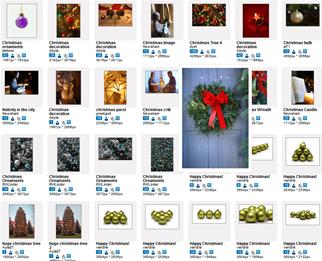 Imagens natalinas gratuitas do RGB Stock