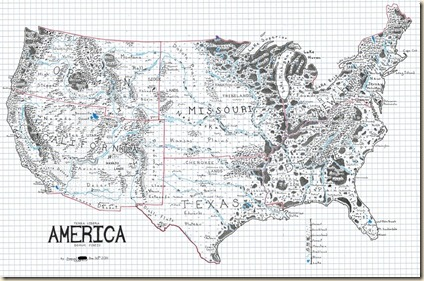 Civilian Reader The United States If Redrawn Like A Fantasy Map - Us map popular redrawn states