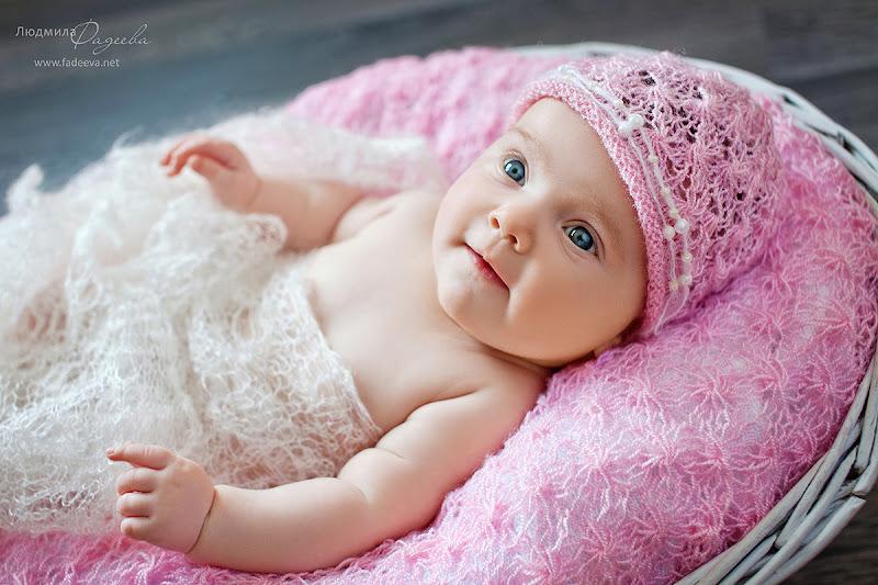 Амелия,2 месяца. Детский и семейный фотограф Людмила Фадеева