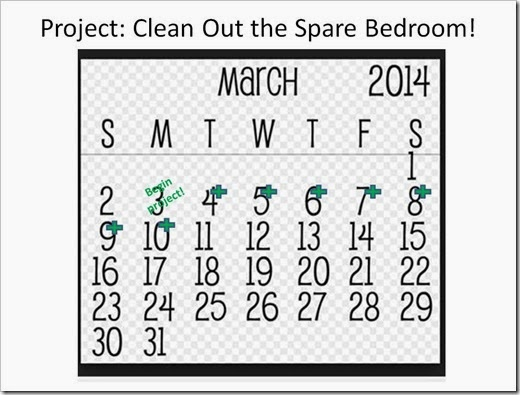 Clean Out the Spare Bedroom_March 11