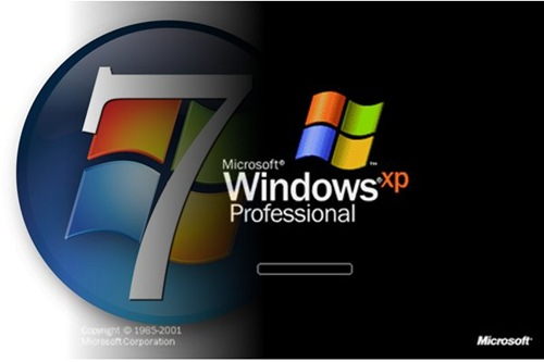 upgrade windows xp ton windows 7