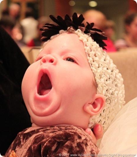 Selah yawn