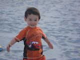Eidan at Hazard's Beach
