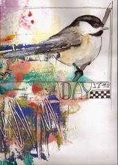 Day 17, chickadee