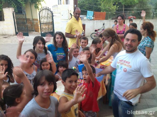 Μουσικομαγειρέματα με τα παιδιά του Πολύλοφου στην Κεντρική πλατεία του χωριού!