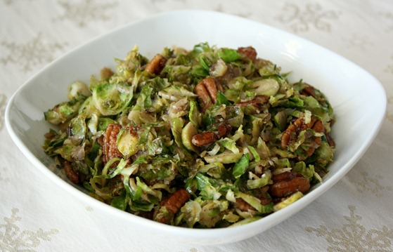 shredded brussels