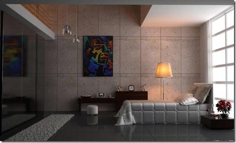 Creative Modern Bedroom Interior Design by Maxwell Xsekox