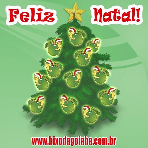 Feliz Natal do Bixo da Goiaba!