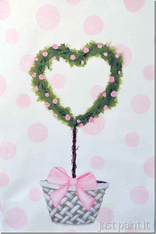 Pink-Rose-Topiary3-Painting