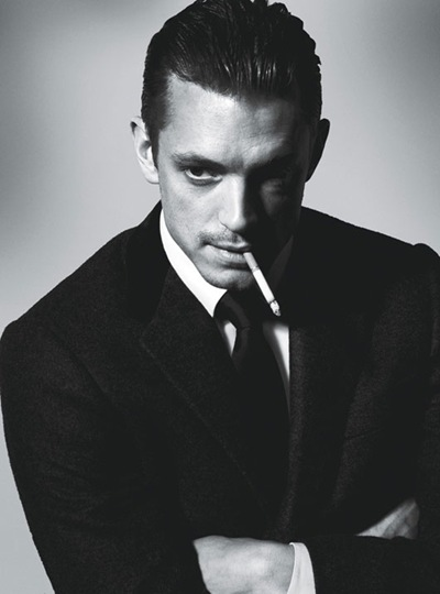 Joel Kinnaman  by Francesco Carrozzini for W magazine, Sept 2011, Styled by Patrick Mackie | WMagazine.com