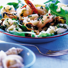 Seafood Salad With Lime And Chilli Salsa