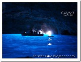 【Italy♦義大利】Capri 卡布里島 - 人間仙島, 藍洞 Grotta Azzurra~ 綻放萬丈光芒的巨型藍寶石