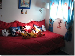 mom's house, the disney room