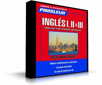 Lecciones de inglés Pimsleur en sus tres niveles