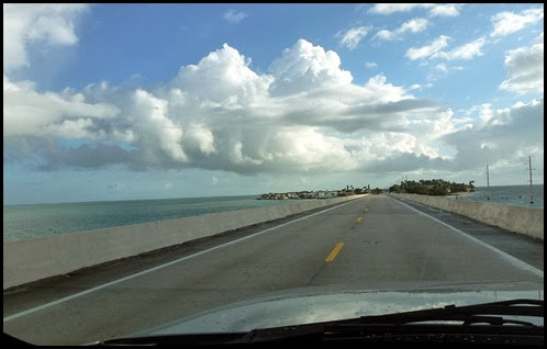 01 - Leaving Bahia Honda SP heading north on Route 1