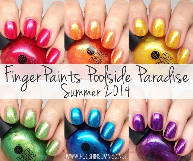 FingerPaints Poolside Paradise