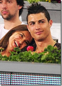 CR7 y su novia