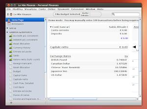 Moneydance su Ubuntu Linux