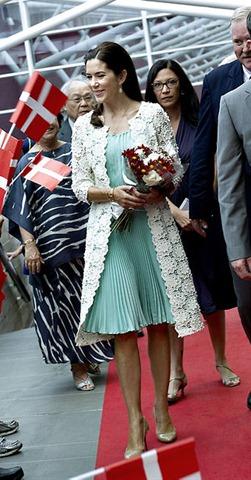 Kronprinsesse Mary og kronprins Frederik ankomemr til Tomie Ohtake Instytut i. Sao Paulo søndag d.15.september 2012, hvor parret SKAL åbne en ny Asger Jorn udstilling.  Kronprinsparret er på officielt besøg i Brasilien d.16-21.september.  (Foto: Keld Navntoft / Scanpix 2012)