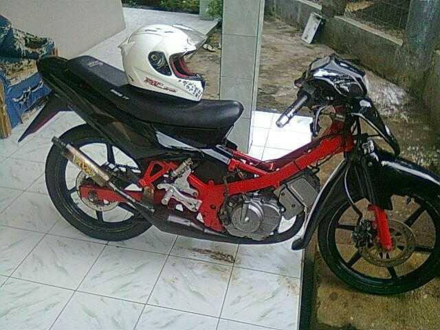 Foto Modifikasi Motor Suzuki Satria R 120   Modifikasi Motor