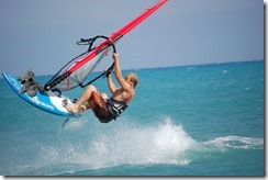 Charles Windsurfing