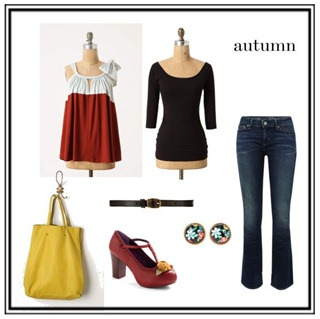polyvore fall swap