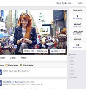 Así es el nuevo diseño de las páginas de Facebook