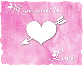 all you need is love pink 2