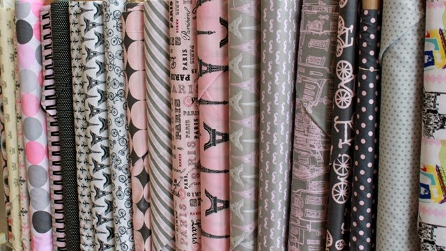 French fabrics found at The Fabric Mill