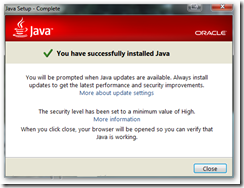 برنامج جافا أخر إصدار 2014 Java Runtime Environment 8.0 build 5 - سكرين شوت 2